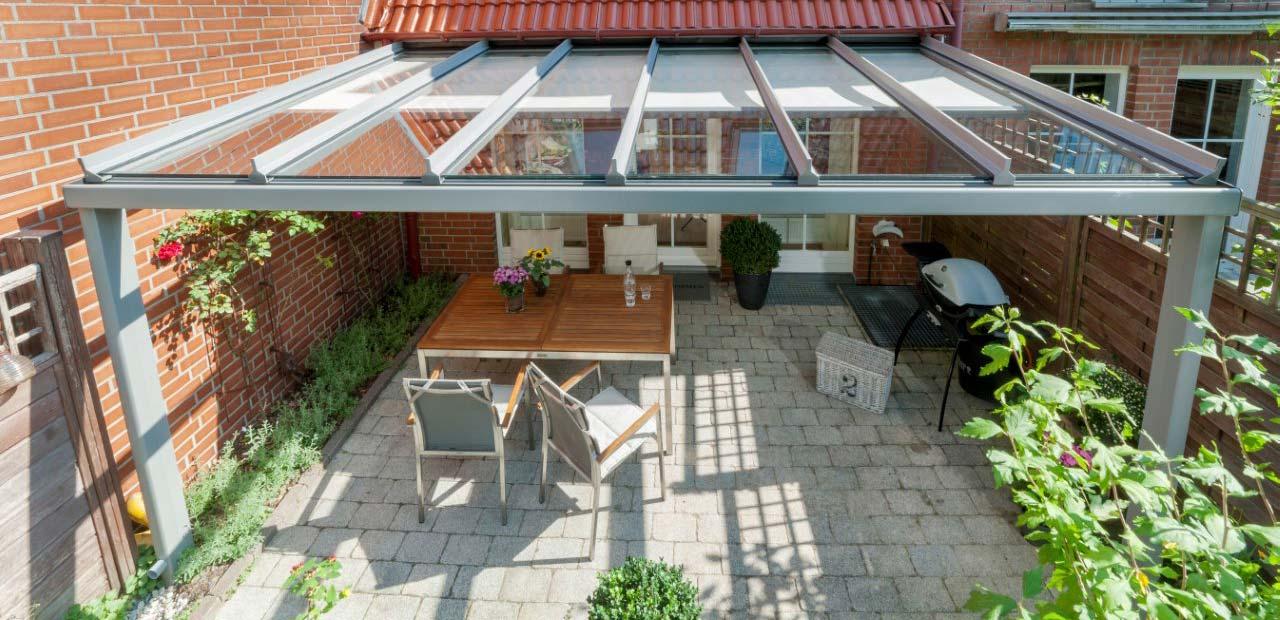 Unterglasmarkise Terrassendach