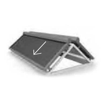 Textilscreens Dachschräge