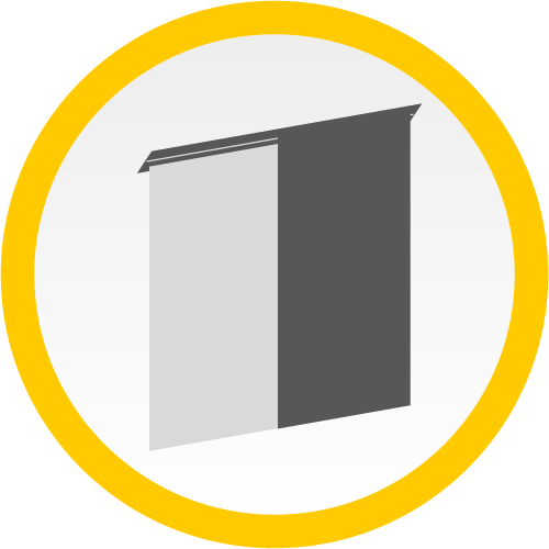 Flächenvorhang (Icon)