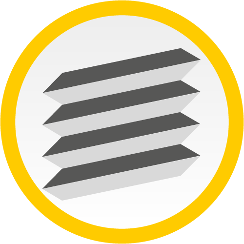 Plissee (Icon)