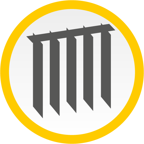 Vertikaljalousien (Icon)