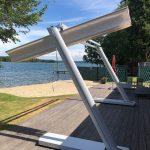 Sonnenschutz Terrasse ohne Bohren