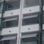 Fallarmmarkisen für Balkon